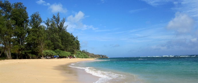 North Aliomanu Beach